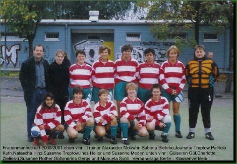 Frauen - Verbandsligamannschaft 2001