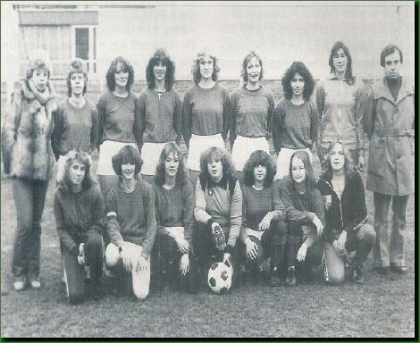 unsere Frauenmannschaft im Jahre 1979